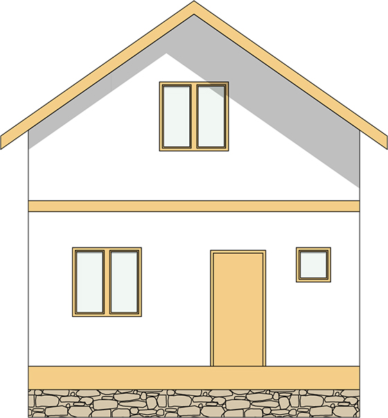 Строительство дома из сип панелей в Берсеневке