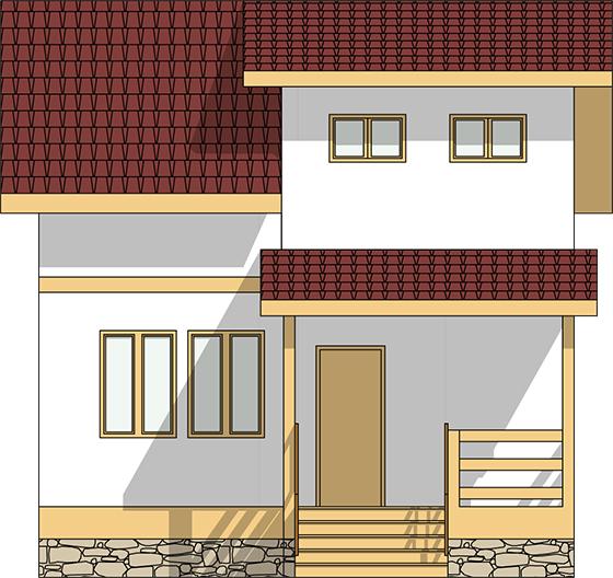 Строительство дома в Ельниках из сип панелей