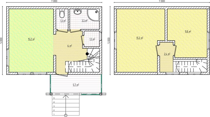 Дом в Ельниках из сип панелей